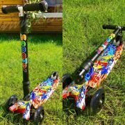 Самокат Maxi Складной Scooter Print Luxury NEW 2018.